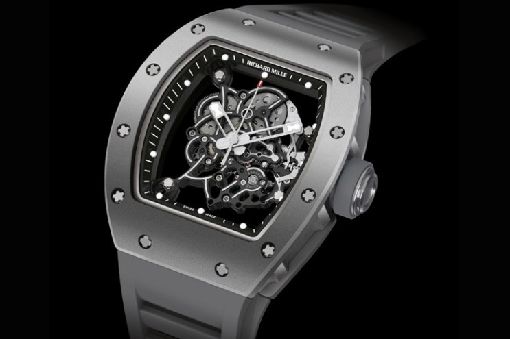 Bubba Watson x Richard Mille RM055 All Grey Boutique Edition