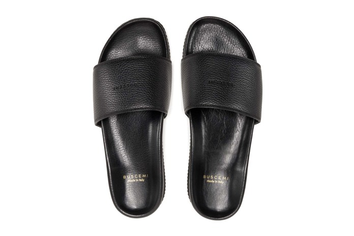 "BUSCEMI 2015 Spring/Summer ""Permanent Vacation"" Slides"