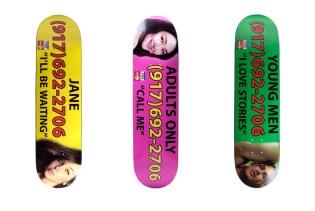 Call Me 917 Skateboard Decks