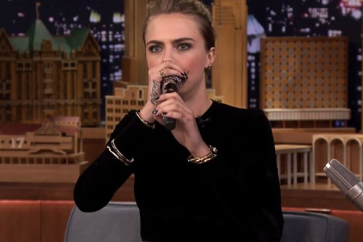 Cara Delevingne Freestyle Beatboxes with The Roots' Black Thought