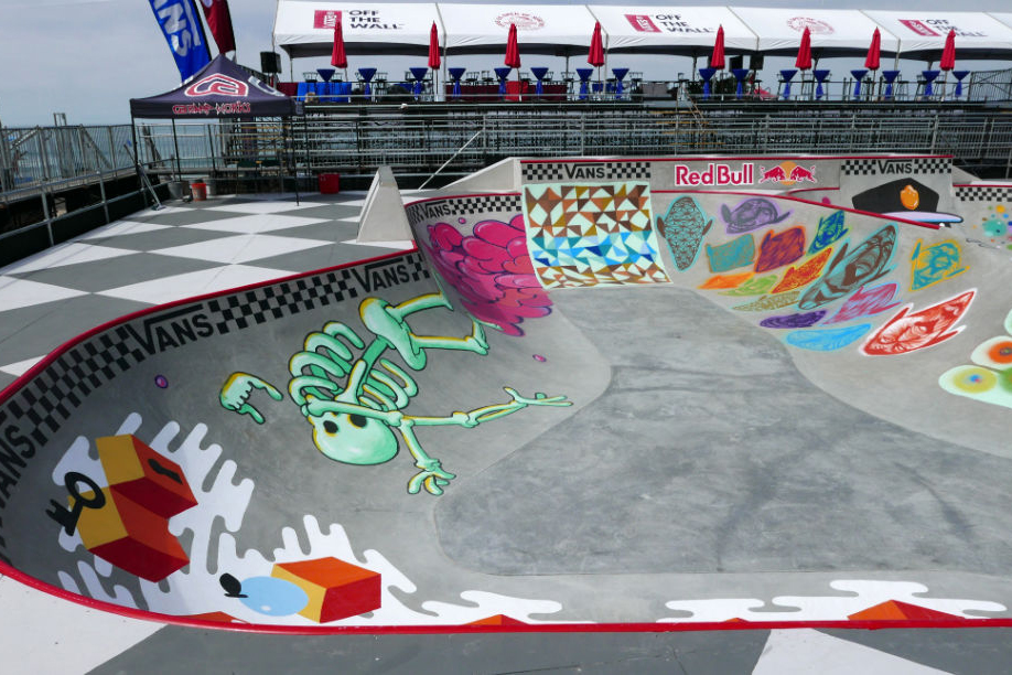 Check out This Year's Skate Bowl Design for the Vans U.S. Open Bowl