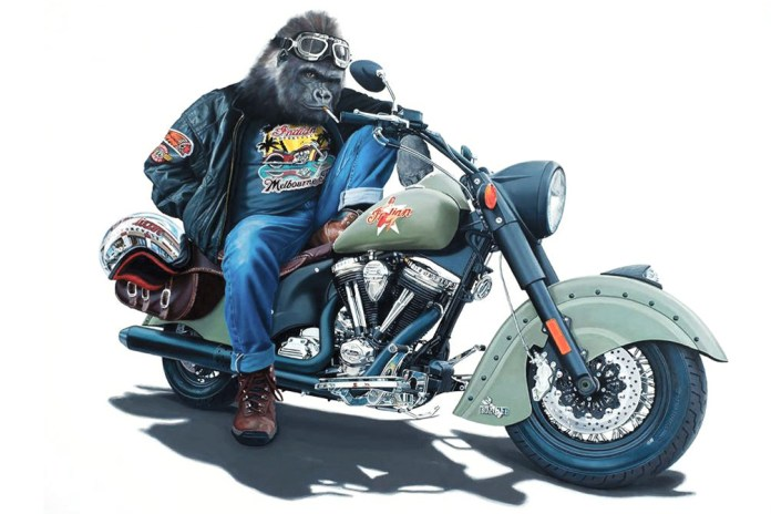 """Check Out Tony South's """"Apes Riders"""" Series"""