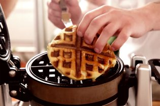 "The ""Waffle Iron Frenzy"" Proves You Can Cook Just About Anything in a Waffle Maker"