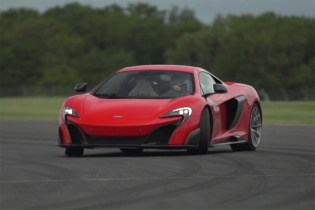 Chris Harris Hits the Track With the New McLaren 675LT