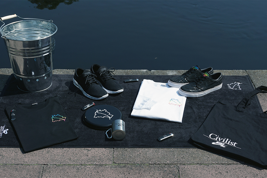 "Civilist x Nike SB ""Spree"" Pack"