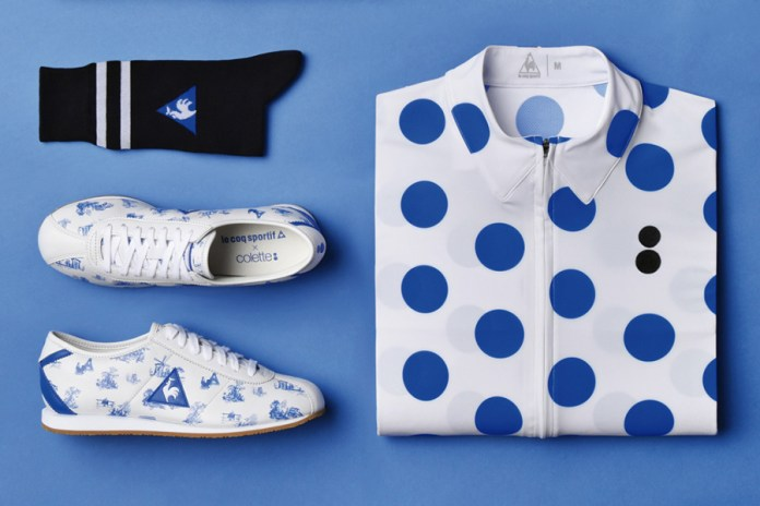 colette x Le Coq Sportif 2015 Summer Cycling Kits