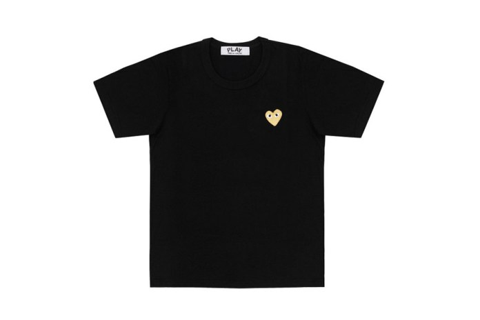 "COMME des GARÇONS PLAY 2015 Fall/Winter ""Gold Heart"" Collection"