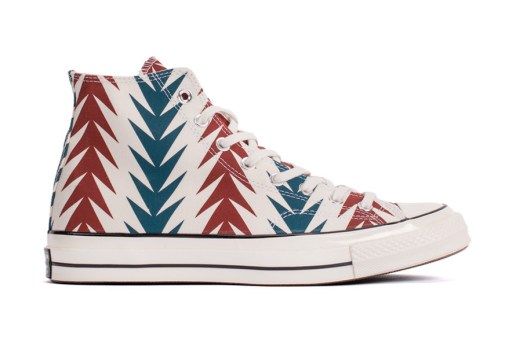 "Converse Chuck Taylor All Star '70 Hi Archive Print ""Chili Paste"""