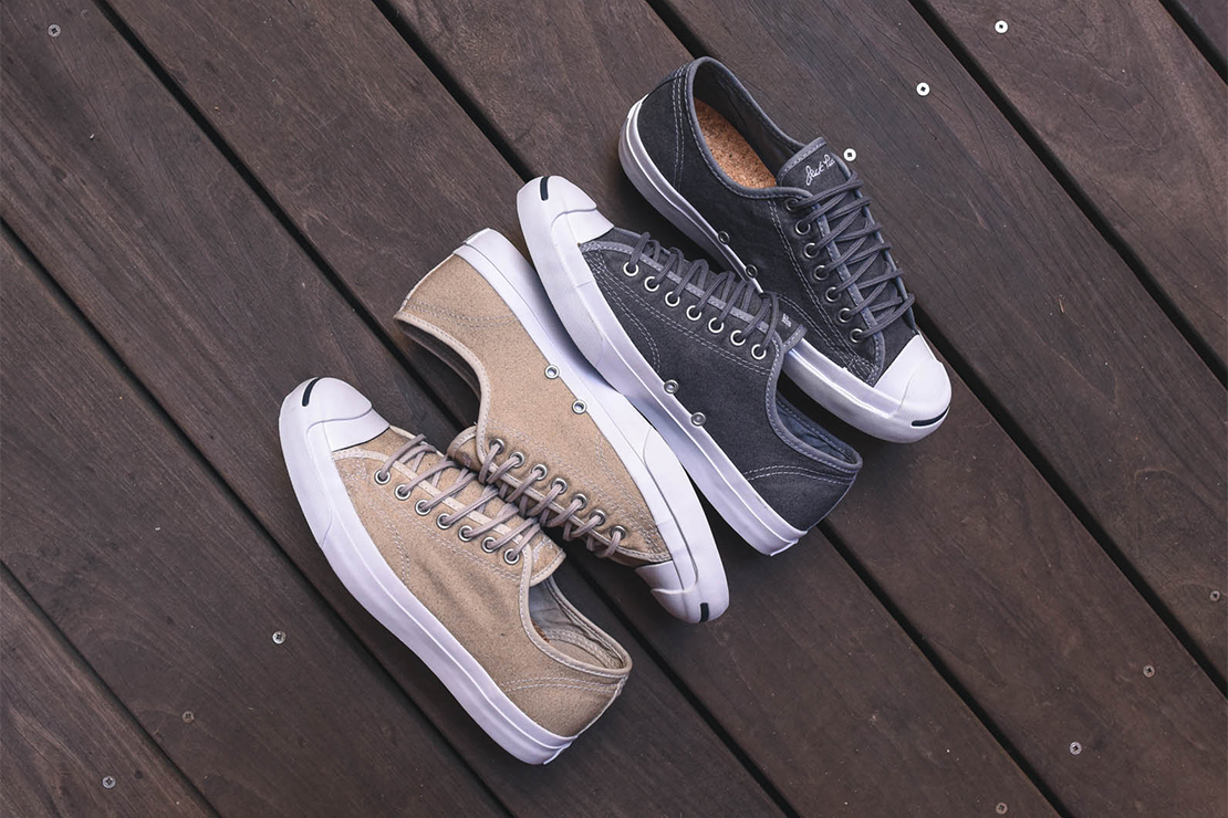 """Converse Jack Purcell """"Wool Canvas"""" Pack"""