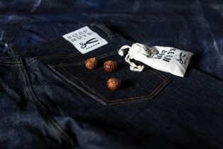 Denham's Soap Nuts Carefully Clean Selvedge Denim