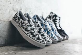 "Eley Kishimoto x Vans 2015 Summer ""Living Art"" Sneaker Collection"