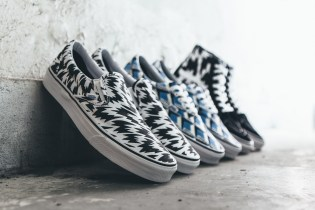 "Eley Kishimoto x Vans 2015 Summer ""Living Art"" Sneaker Collection"