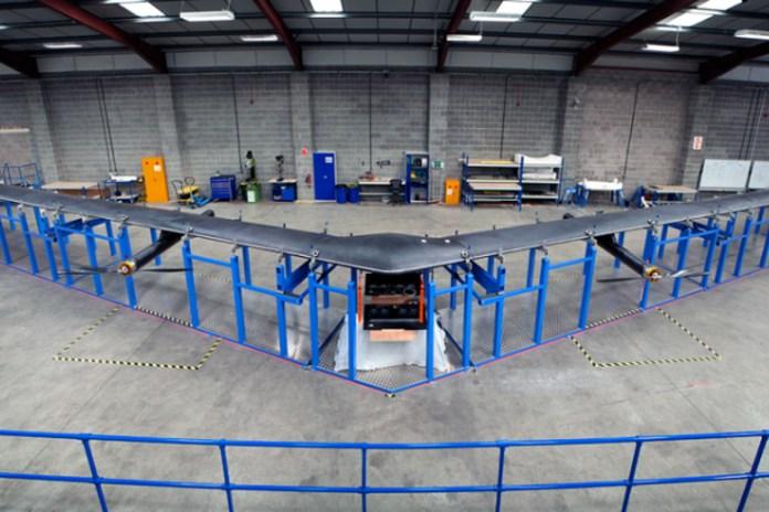 Facebook Creates Solar-Powered Internet Plane