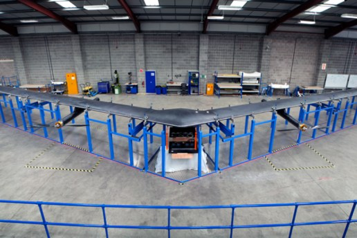 Facebook Creates Solar-Powered Internet Plane