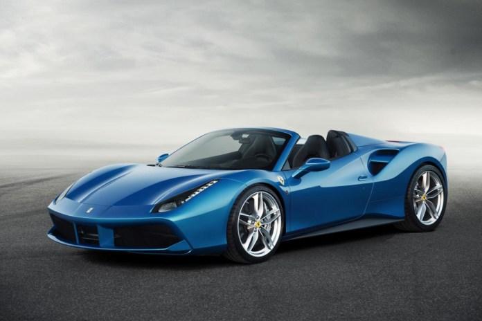 Ferrari Unveils 661 Horsepower 488 Spider