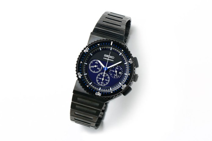 "Giorgetto Giugiaro x Seiko 30th Anniversary Speedmaster Chronograph ""White Mountaineering"""