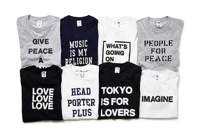 Head Porter Plus x Fruit of the Loom 2015 Fall/Winter T-Shirts