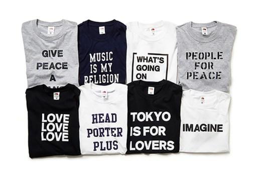 Head Porter Plus x Fruit of the Loom 2015 Fall/Winter T-Shirts