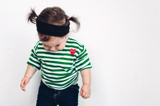 #hypebeastkids COMME des GARÇONS PLAY for Kids 2015 Summer Lookbook by A Ma Maniere