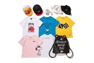 #hypebeastkids: 'Peanuts' x Stussy Kids 2015 Summer Collection