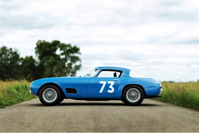 """Iconic 1956 Ferrari 250 """"Tour de France"""" up for Auction"""