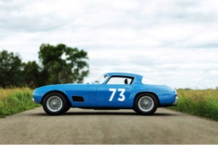 "Iconic 1956 Ferrari 250 ""Tour de France"" up for Auction"