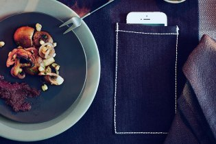 IKEA Unveils a Placemat With a Smartphone Pouch