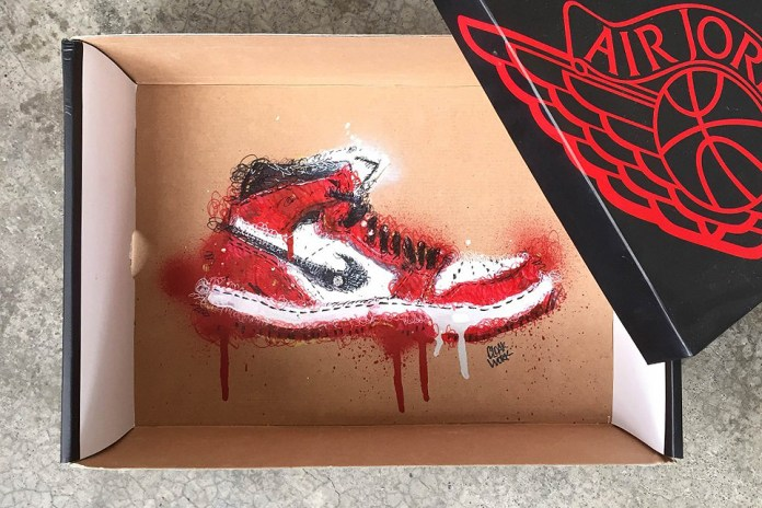 Illustrator Cloakwork Showcases His Awesome Sneaker Box Art