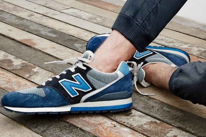 "J.Crew x New Balance 996 ""Neptune Blue"""
