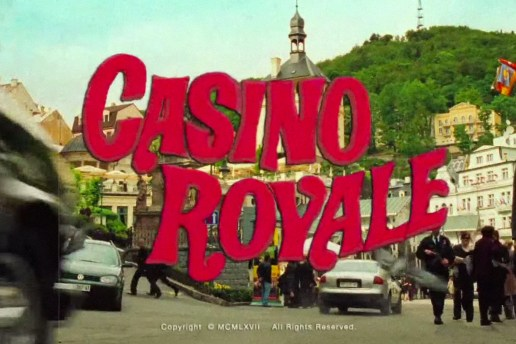 James Bond 'Casino Royale' Reimagined as a 1960s Style Trailer
