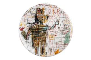 Jean-Michel Basquiat x Ligne Blanche 2015 Porcelain Plates