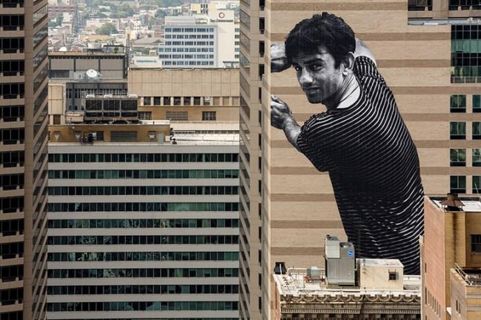 JR 'Migrants, Ibrahim, Mingora-Philadelphia' @ The Graham Building, Philadelphia