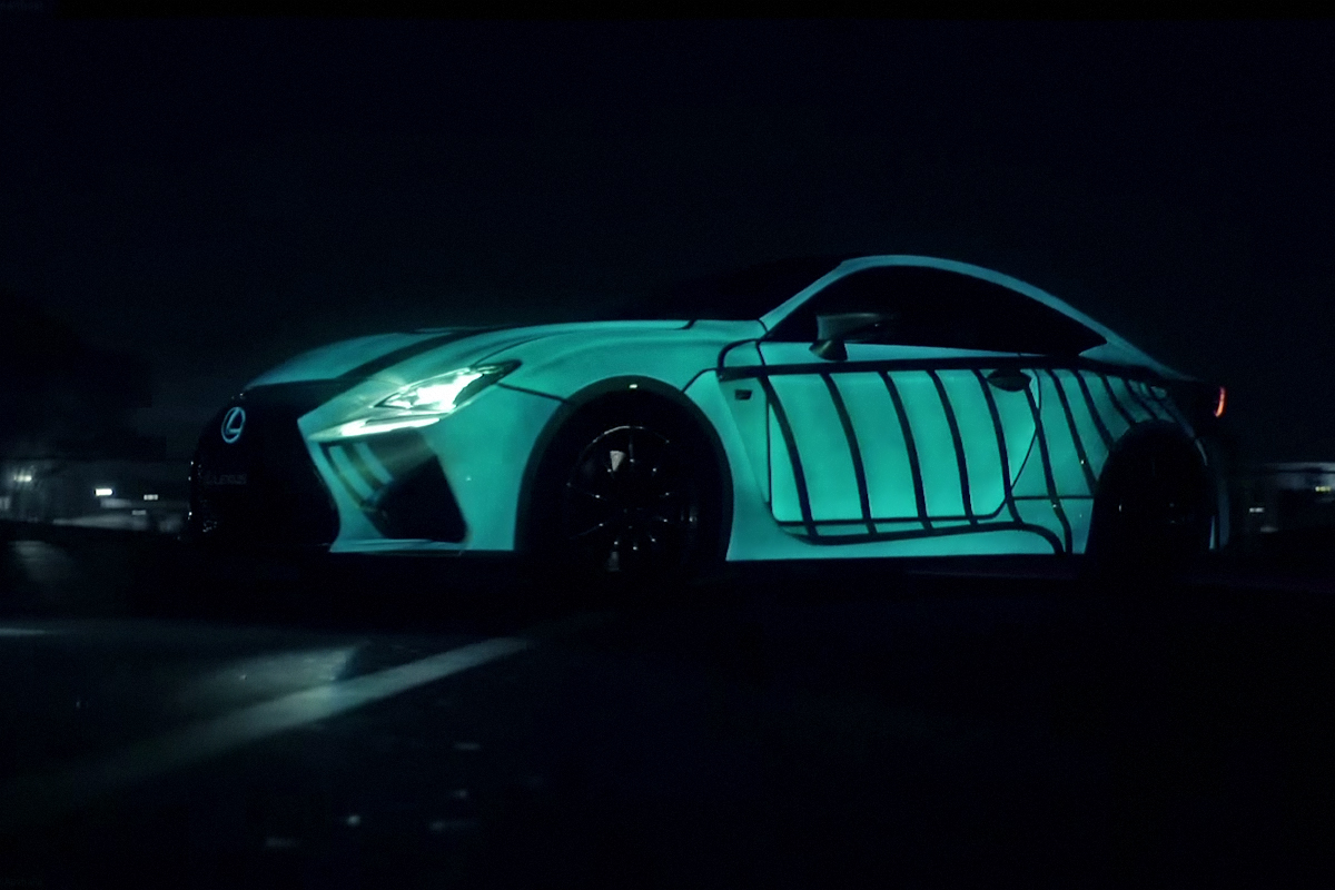 """Lexus Teases """"The Heart Racing Project"""""""