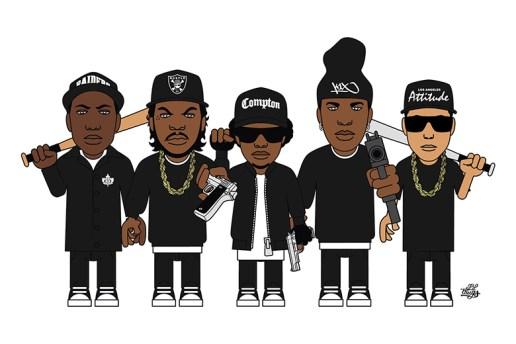 """Lil Thugs x K1X """"LT Attitude"""" Artist Series T-Shirt"""