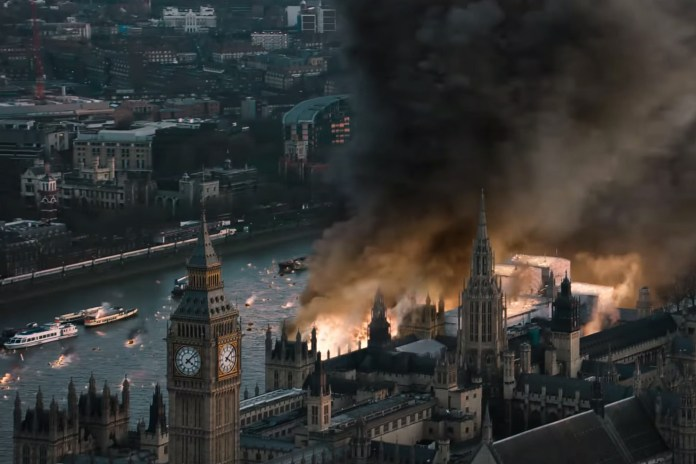 'London Has Fallen' First Teaser Trailer Starring Morgan Freeman, Gerard Butler and Aaron Eckhart