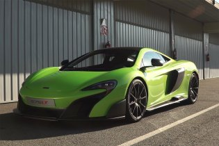 McLaren Unleashes the 675LT on the Track for the First Time