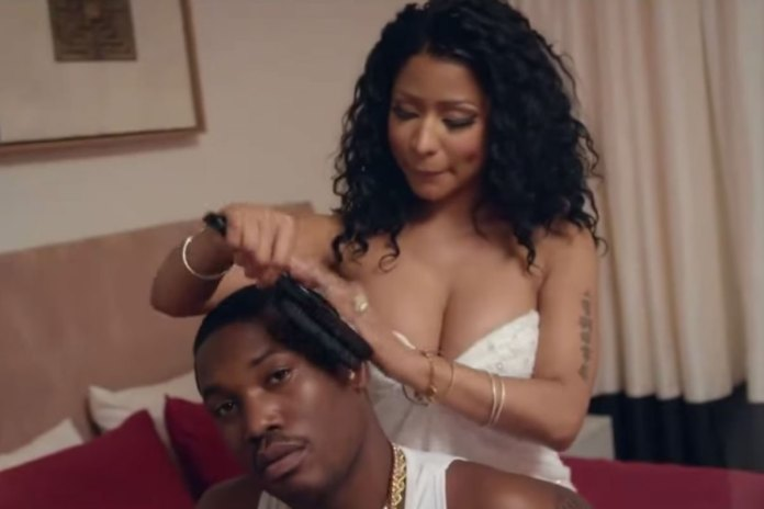 "Meek Mill Featuring Chris Brown & Nicki Minaj ""All Eyes On You"" Music Video"