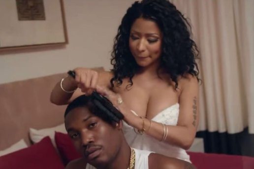 "Meek Mill Featuring Chris Brown & Nicki Minaj ""All Eyes On You"" Music Video"