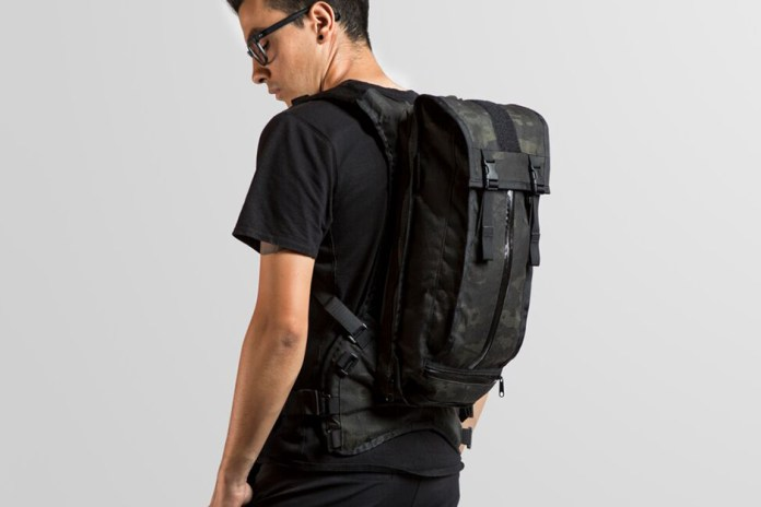 Mission Workshop Hauser Hydration Pack Black Camo Edition