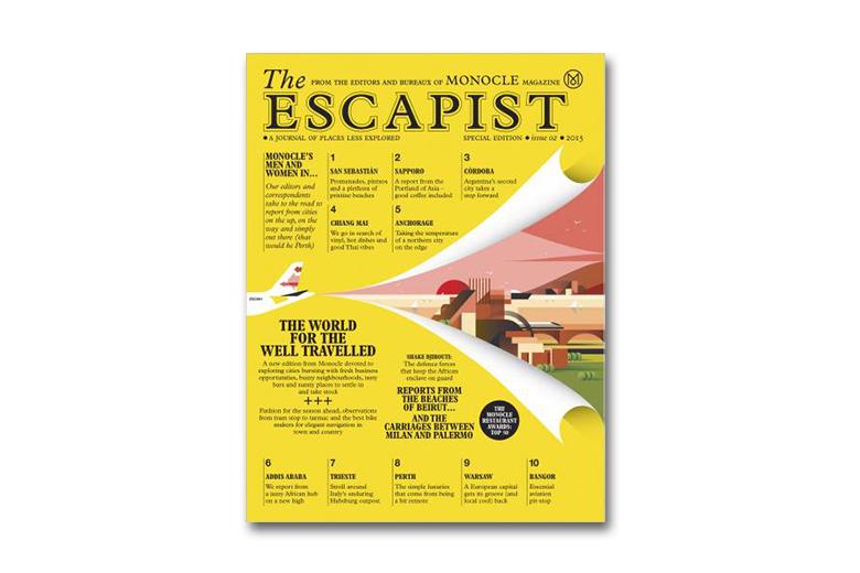 Monocle Introduces 'The Escapist'