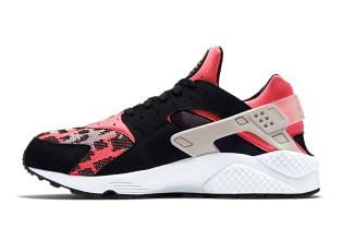 Nike Air Huarache Hyper Pink/Wolf Grey-Black
