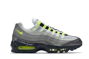 Nike Air Max 95 Black/Volt–Medium Ash–Dark Pewter