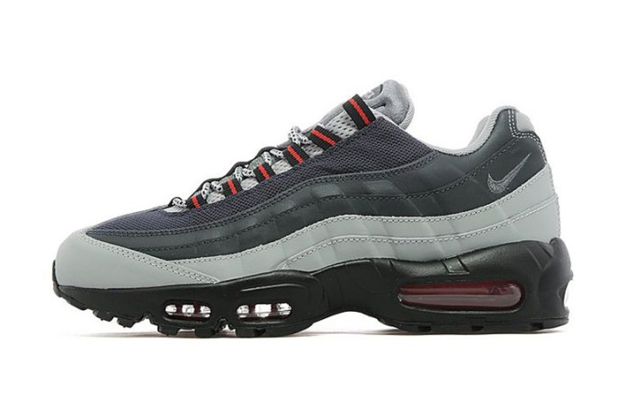 Nike Air Max 95 Silver/Charcoal Grey JD Sports Exclusive
