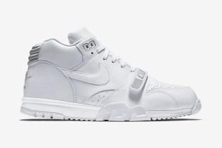 Nike Air Trainer 1 Mid White/Pure Platinum