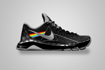 Nike Basketball Sneakers Reimagined With Classic Album Artwork