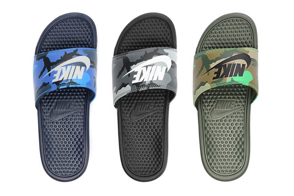 Nike Benassi Jdi Slide Quot Camo Quot Pack Slip On Sandals Hypebeast