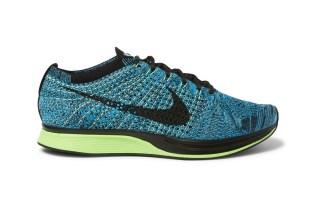Nike Flyknit Racer Blue/Black/Volt