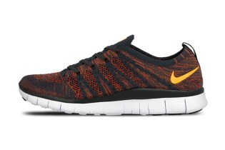 Nike Free Flyknit NSW Anthracite/Laser Orange-Gym Red-Total Orange