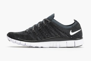 Nike Free Flyknit NSW Black/White