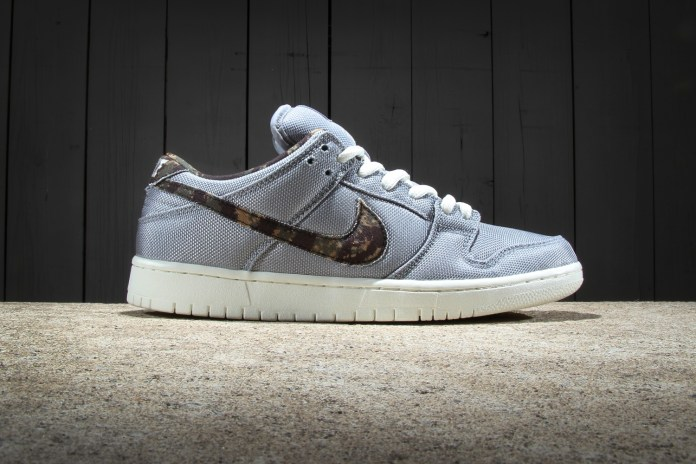 Nike SB Dunk Low Premium Wolf Grey/Medium Olive-Sail